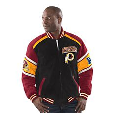 Officially Licensed NFL Colorblocked Suede Jacket by Glll ... 566312a90