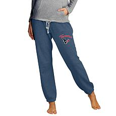 Officially Licensed NFL Concepts Sport Ladies' Knit Jogger Pant-Texans