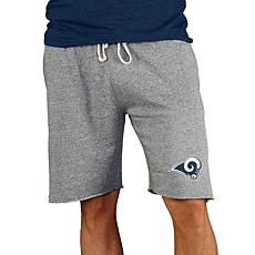 Officially Licensed NFL Concepts Sport Mainstream Men's Shorts Rams