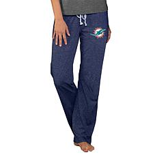 Officially Licensed NFL Concepts Sport Quest Ladies Knit Pant-Dolphins