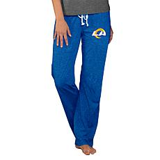 Officially Licensed NFL Concepts Sport Quest Ladies Knit Pant - Rams