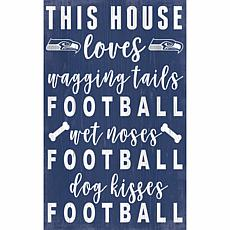 Officially Licensed NFL Distressed Wall Art