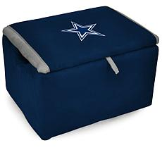 Officially Licensed NFL Fan Favorite Storage Bench