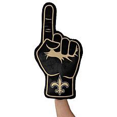 Officially Licensed NFL Foam Finger Plush Pillow - New Orleans Saints