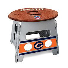 Officially Licensed NFL Folding Step Stool - Chicago Bears