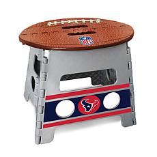 Officially Licensed NFL Folding Step Stool - Houston Texans
