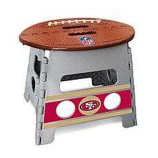 Officially Licensed NFL Folding Step Stool - San Francisco 49ers