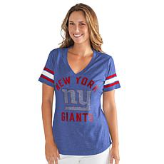 Officially Licensed NFL for Her Wildcard Short-Sleeve Tee by Glll