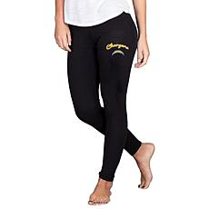 Officially Licensed NFL Fraction Legging by Concept Sports - Chargers