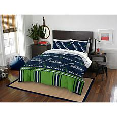 Officially Licensed NFL Full Bed in a Bag Set - Seattle Seahawks