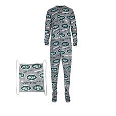 Officially Licensed NFL Grandstand Union Suit by Concepts Sport