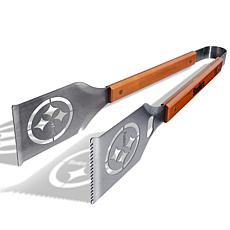 Officially Licensed NFL Grill-A-Tongs - Pittsburgh Steelers