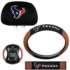Officially Licensed NFL Headrest and Wheel Covers