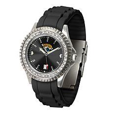 Officially Licensed NFL Jacksonville Jaguars Sparkle Series Watch