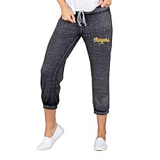 Officially Licensed NFL Knit Capri Pant by Concept Sports - Chargers