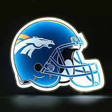 Officially Licensed NFL LED Helmet Lamp - Broncos