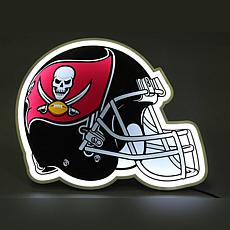 Officially Licensed NFL LED Helmet Lamp - Buccaneers
