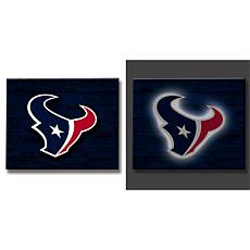 Officially Licensed NFL Lit Wall Décor - Texans