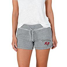 Officially Licensed NFL Mainstream Ladies Knit Shorts - Buccaneers