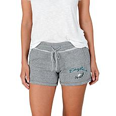 Officially Licensed NFL Mainstream Ladies Knit Shorts - Eagles
