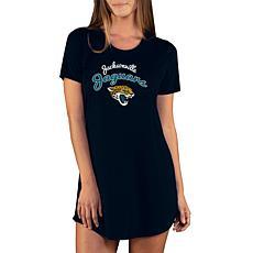 Officially Licensed NFL Marathon Nightshirt, Concept Sports - Jaguars