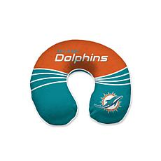 finest selection b7b22 96c2c Officially Licensed NFL Memory Foam Travel Pillow - Miami Dolphins