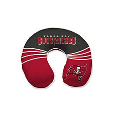 Officially Licensed NFL Memory Foam Travel Pillow - Tampa Buccaneers