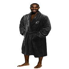 Officially Licensed NFL Men's L/XL Bathrobe – Raiders