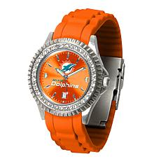 Officially Licensed NFL Miami Dolphins Sparkle Series Watch