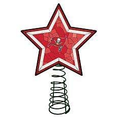 Officially Licensed NFL Mosaic Tree Topper - Buccaneers