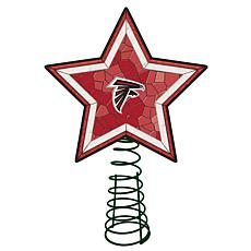 Officially Licensed NFL Mosaic Tree Topper - Falcons