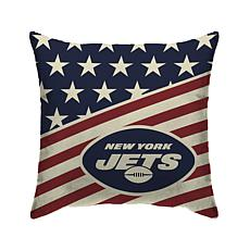 Officially Licensed NFL Pegasus Sports Americana Pillow - Jets