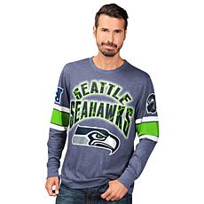 size 40 41d70 69ac4 Officially Licensed NFL Power Move Long-Sleeve Graphic Tee by Glll