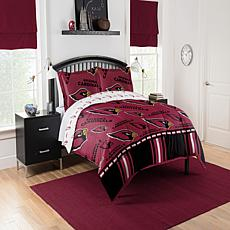 Officially Licensed NFL Queen Bed in a Bag Set - Arizona Cardinals