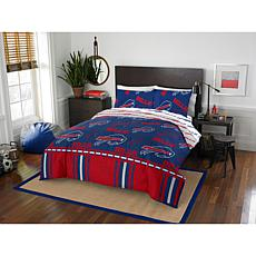 Officially Licensed NFL Queen Bed in a Bag Set - Buffalo Bills