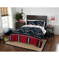 Officially Licensed NFL Queen Bed in a Bag Set - Houston Texans