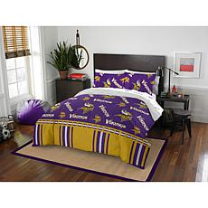 Officially Licensed NFL Queen Bed in a Bag Set - Minnesota Vikings