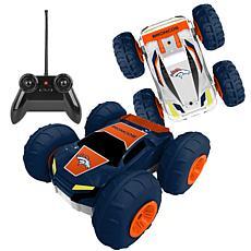 Officially Licensed NFL Remote Control Flip Car - Denver Broncos