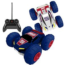 Officially Licensed NFL Remote Control Flip Car - New York Giants
