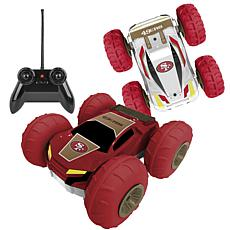 Officially Licensed NFL Remote Control Flip Car - San Francisco 49ers