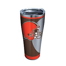 Officially Licensed NFL Rush Stainless Steel Tumbler-Cleveland Browns