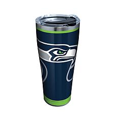 Officially Licensed NFL Rush Stainless Steel Tumbler-Seattle Seahawks