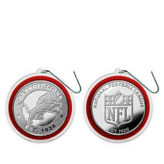 Officially Licensed NFL Set of 2 Silver-Plated Coins