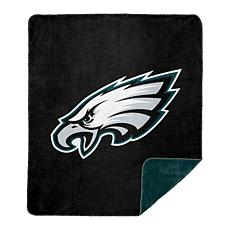 Officially Licensed NFL  Sliver Knit Throw - Eagles