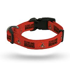 Officially Licensed NFL Small Pet Collar - Browns