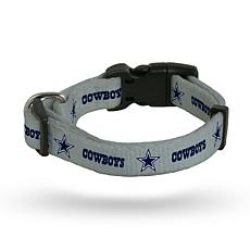 Officially Licensed NFL Small Pet Collar - Cowboys