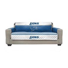 Officially Licensed NFL Sofa Cover - Detroit Lions
