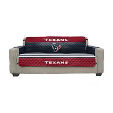 Officially Licensed NFL Sofa Cover - Houston Texans