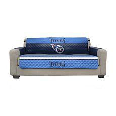 Officially Licensed NFL Sofa Cover - Tennessee Titans