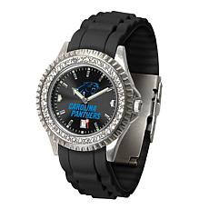 newest d8486 e0e6b Officially Licensed NFL Sparkle Series Watch - Carolina Panthers